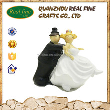 Personalized Design Resin Fat Couple Figure Wedding Gifts
