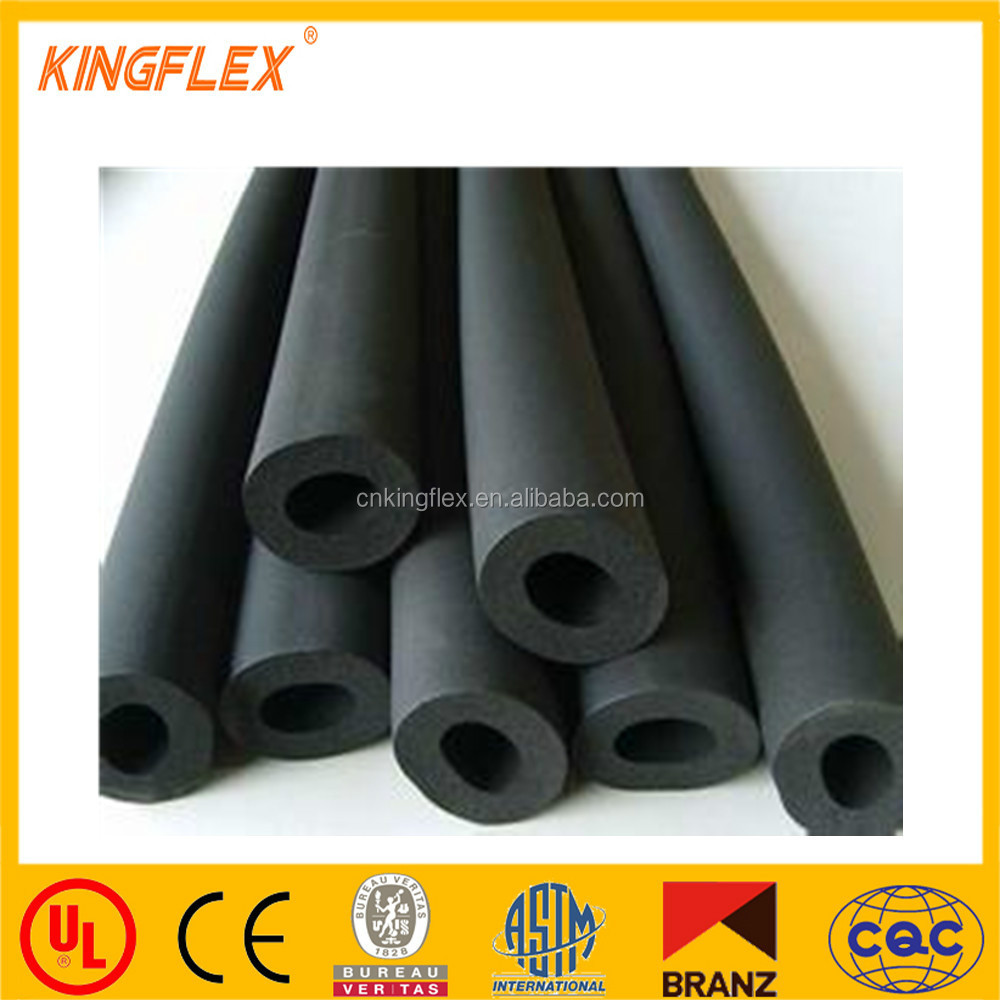 Kingflex aircon PVC/NBR closed cell rubber foam pipe/tube insulation