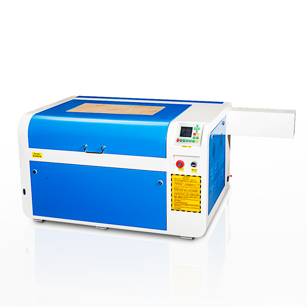 glass engraving machine with CO2 <strong>laser</strong> 4060 400*600mm woods acrylic textile engraver 40w 50w 60w