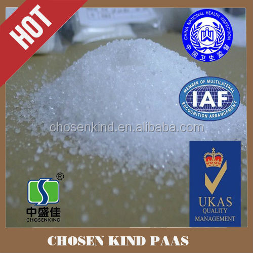 Food additives factory price sodium polyacrylate (paas) instead of guar gum e412