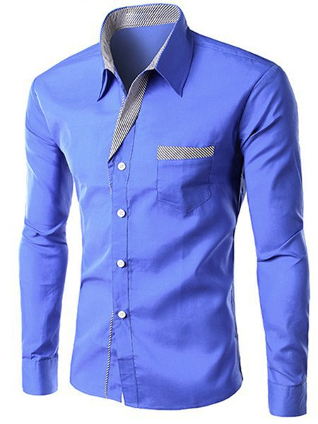 Band Collar Men Shirt- Band Collar Men Shirt Suppliers and ...