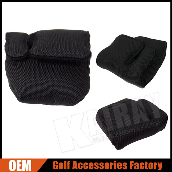Custom made Ballistic Nylon Mallet Putter Golf Cover
