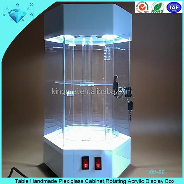Оргстекло шкаф вращающийся акриловая коробка дисплея-стеллаж.