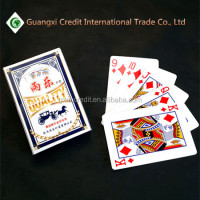 set top box poker set,magic playing card with customized company logo