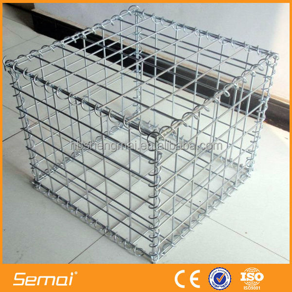 Welded Wire Mesh Gabion Box gabion wall