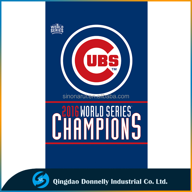 2016 world series champions chicago cubs Flag 3x5ft cheap polyester fabric Baseball Teams Flag