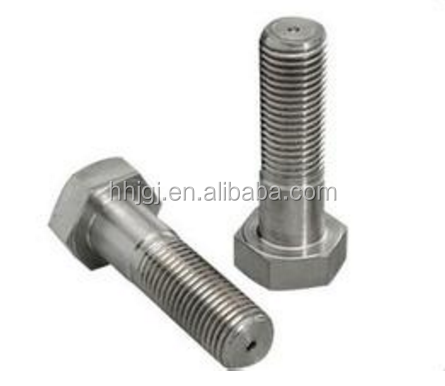 304 stainless steel cashew nut hex head bolt JIS Stainless Steel 304/316 Big Size Hex Bolt Plain Finish DIN933 hex bolt 4.8 8.8