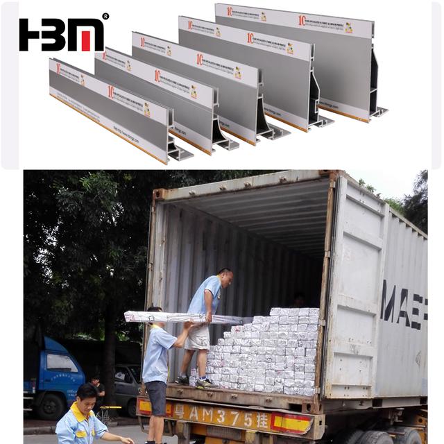 China aluminum fabric frame, textile aluminum profile, fabric lightbox extrusion