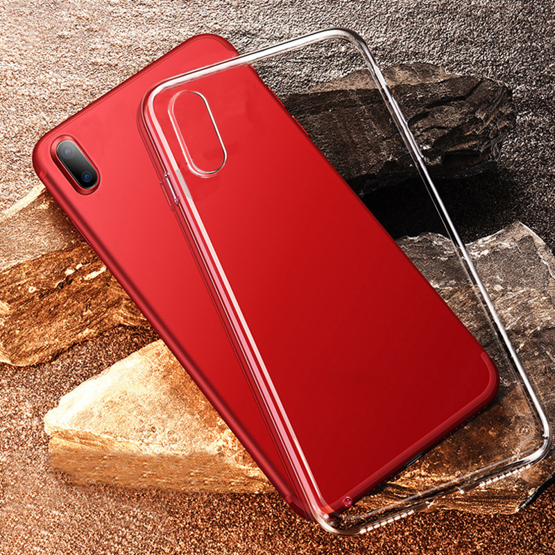 Free sample silicone phone case waterproof back cover for iphone X Ultra thin super clear TPU phone case for iphone 10