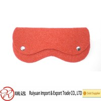 practical cheap funny novelty felt glasses Case from China supplier