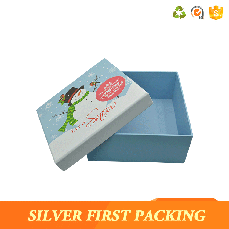 Elegant custom printed special paper cardboard gift box hardcover box with lids wholesale