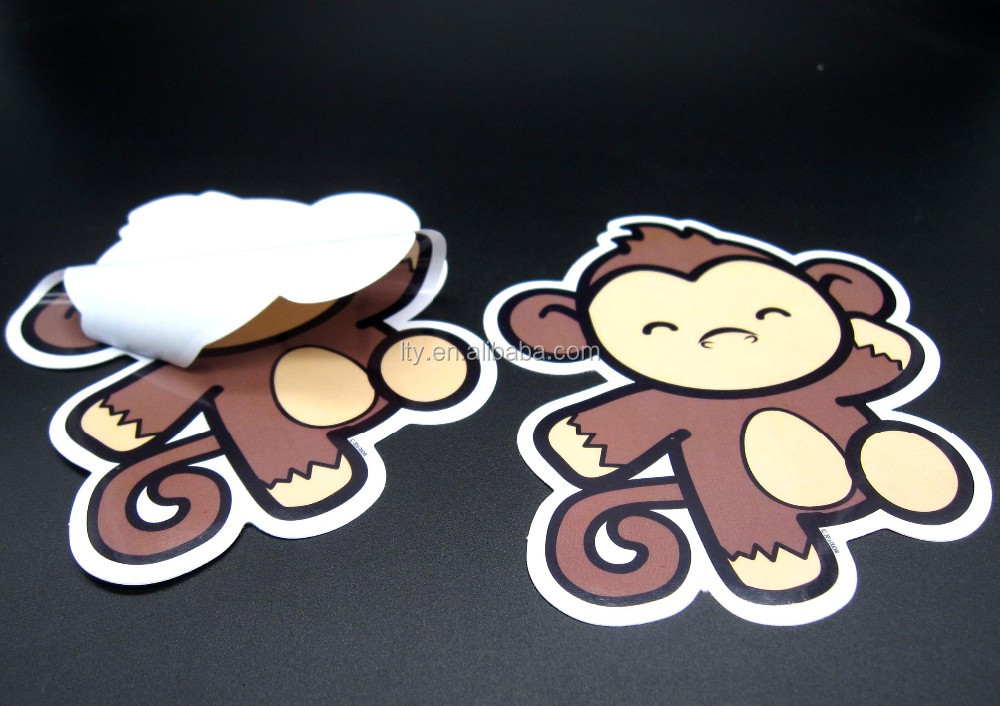 custom dye cut pvc label vinyl decal sticker
