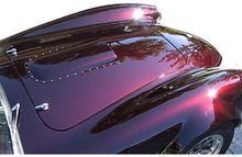 KINGFIX Brand good appearance black cherry automotive paint