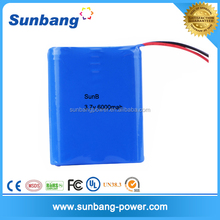 Factory price Most Popular electric 3.7v 6000mah 18650 li-ion battery pack ,For digital devices battery pack