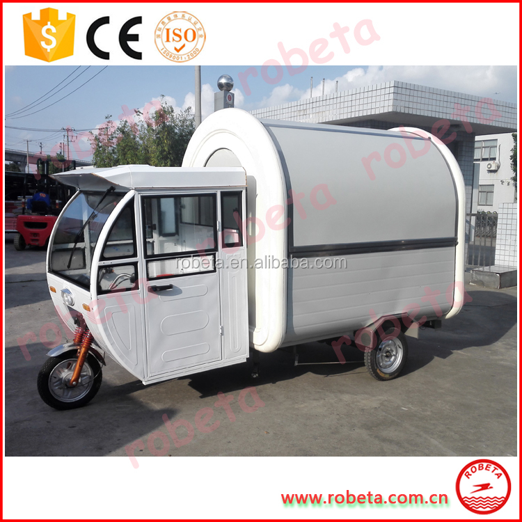 New Factory Direct Best global new arrival mobile food kiosk catering trailer