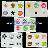 New Pattern Home Button Stickers For Iphone 4S for Iphone 5 for Ipod touch for Ipad3