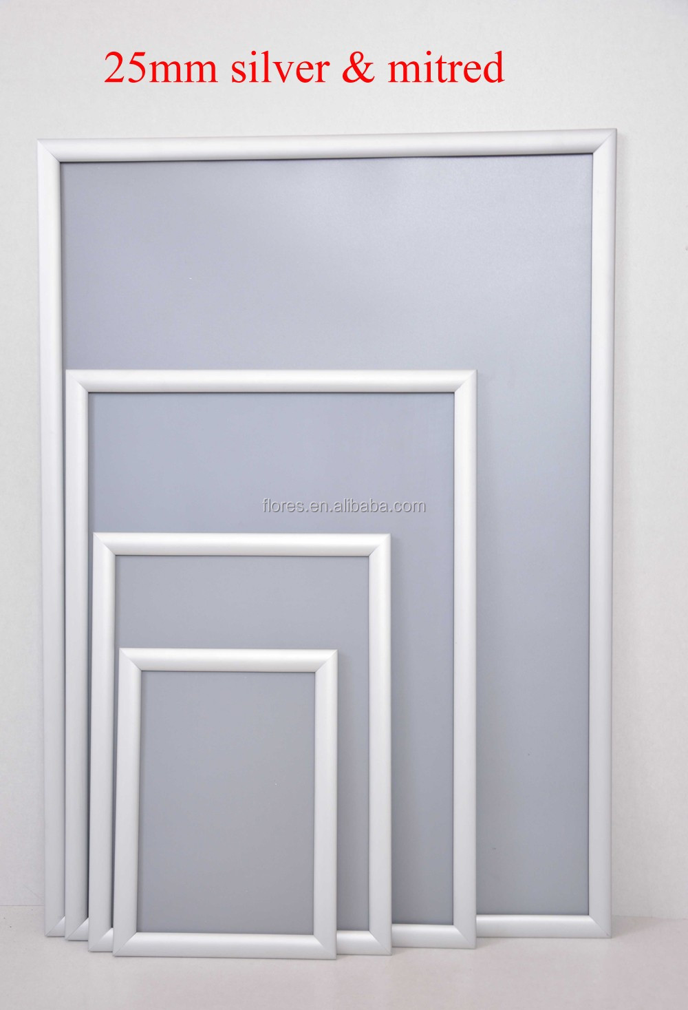 Aluminum Frame Wall : Customized metal high quality wall moounted aluminum clip