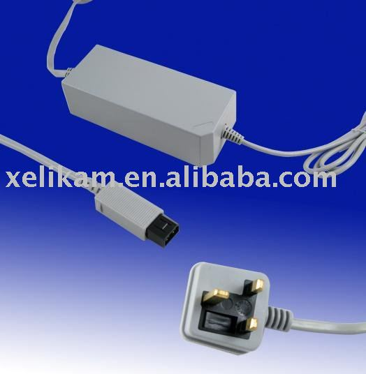 For Wii AC power adapter for Wii power supply(UK Version)