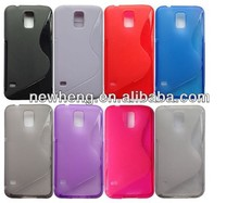 wholesale s line TPU skin case for samsung galaxy s5