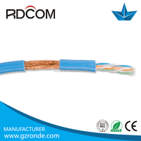 Indoor outdoor network cable 23awg bare copper full copper sftp cat6