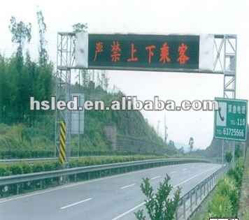 Brand new bus led destination sign made in China