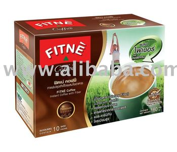 FITNE Coffee Instant Coffee with Fiber