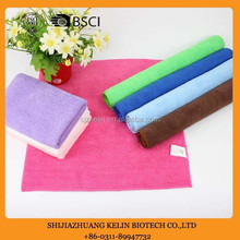 custom size promotional wholesale microfiber cloth with factory price