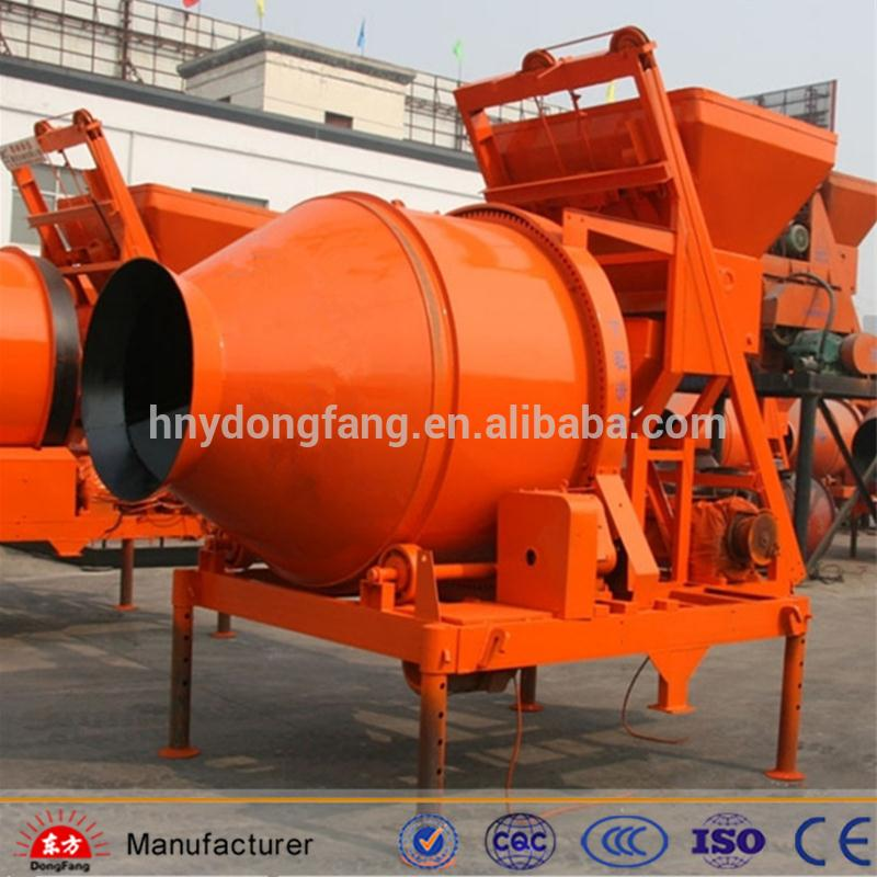 convenient JZM500 used portable concrete mixer on sale in good condition
