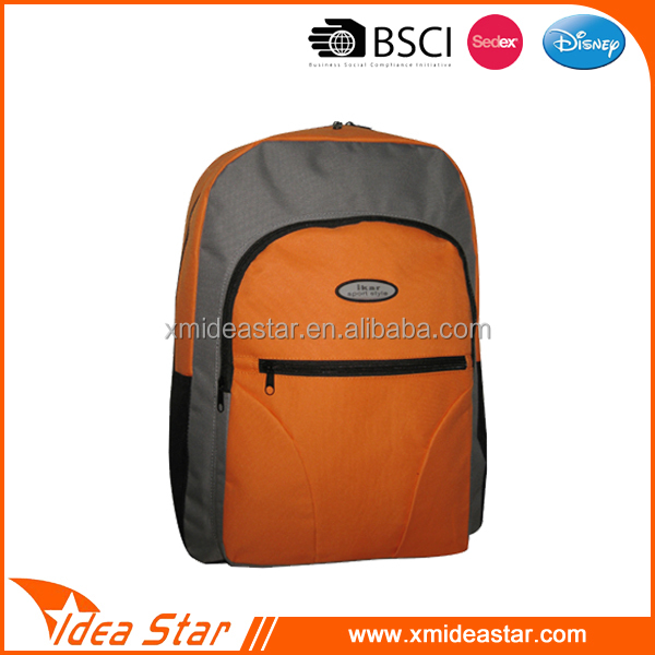 cheap school backpack for promotion, school bag