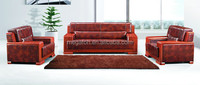 Luxury presidential furniture executive office sofa set for reception(FOH-8002)