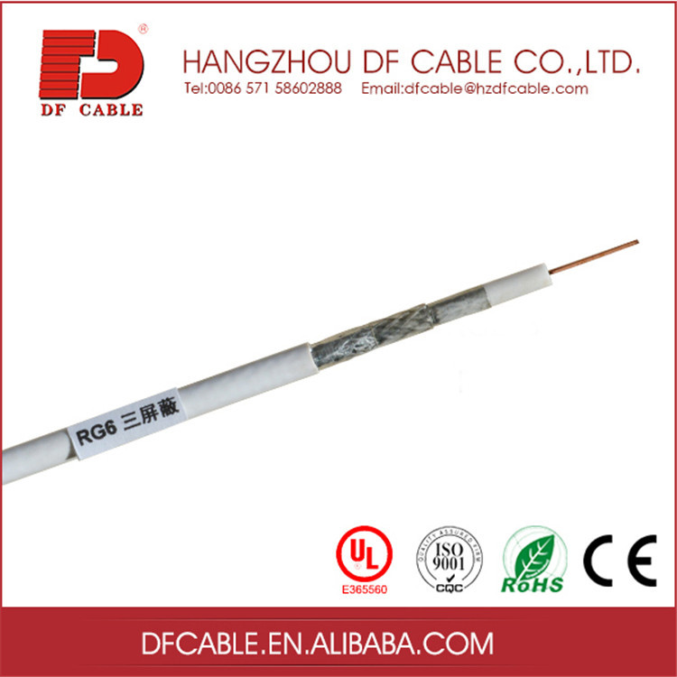 Telecommunication Application Material cable drop rg6u cable network