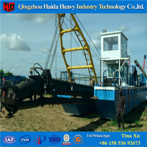 Hydraulic Suction Cutter Dredger/River Sand Cleaning Dredger/Sand Dredge Boat for Sale