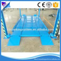 parking lift for home use 4 post parking system 4 post 2 layer pit car parking system