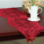 new christmas red or gold lace table runners 33x114cm