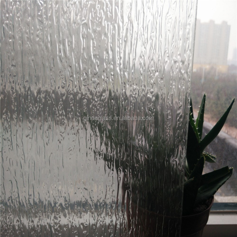 3mm 4mm 5mm 6mm 8mm clear rains pattern glass figure glass rolled glass