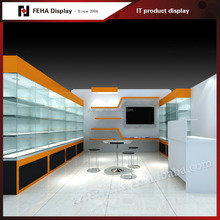 Retail Interior Design Mobile Phone Kiosk for Sale