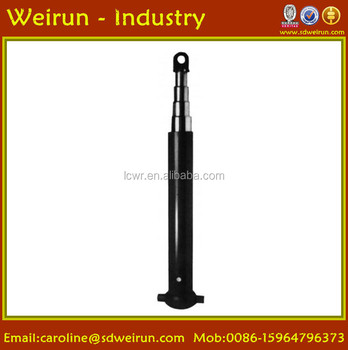 Hyva Fe/Fc type telescopic hydraulic cylinder for dump truck/trailer/garbage truck