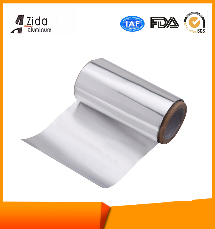 Low price special two sides aluminum foil paper back