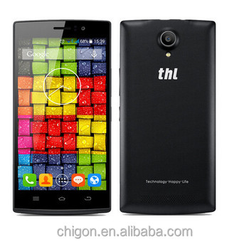 Wholesale for original THL L969 MTK6582 quad core android phone 1.3GHz 1GB ROM 8GB RAM battery 2700 mAh touchscreen in stock