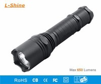 waterproof portable tactical flashlight