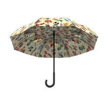 Sivina OEM depend on your design umbrella with lighted handle shenzhen umbrella manufactur