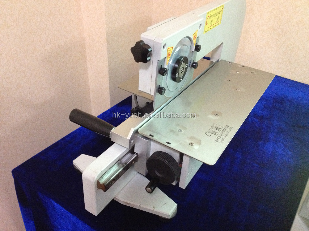 hand push pcb cutting machine depaneling 330mm length pcba YSV-2M