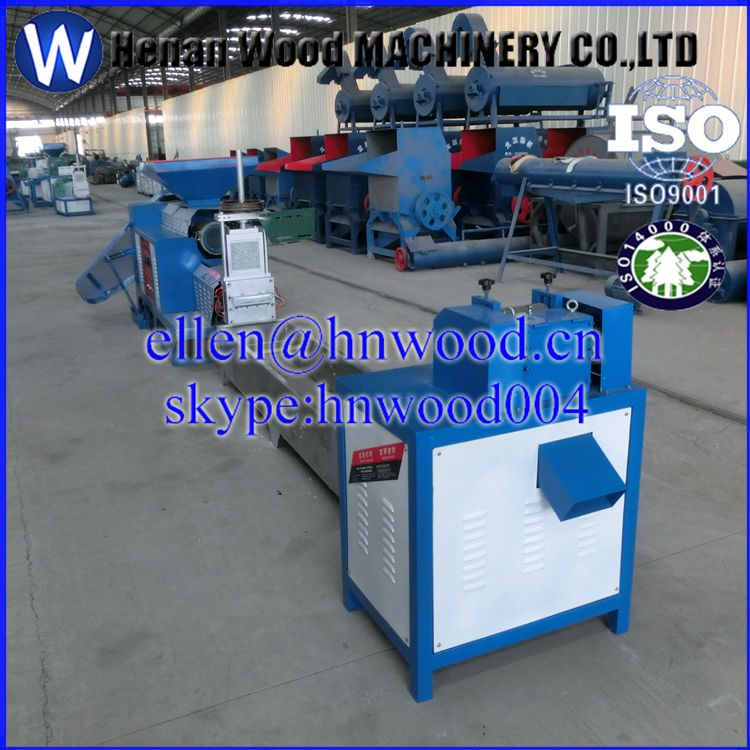 Plastic recycling granulating production line/plastic pelletizing machine