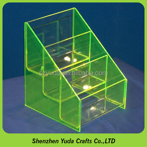 Transparent plexiglass container for candy, acrylic candy display shelves wholesale