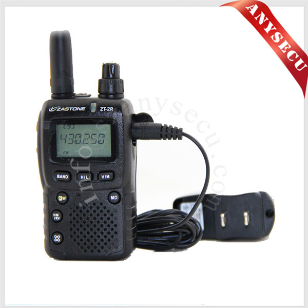 ZT-2R+ 1300 Channels AM NFM WFM Wide Band 0.5-999 MHz Receiver & Dual Band Ham Transmitter 144-146 430-440 MHz Software