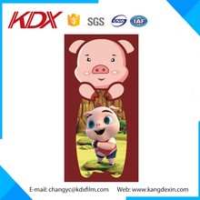 2016 New Custom Design Cute PET 3D Cartoon Picture Bookmark Lenticular Bookmark For Kids