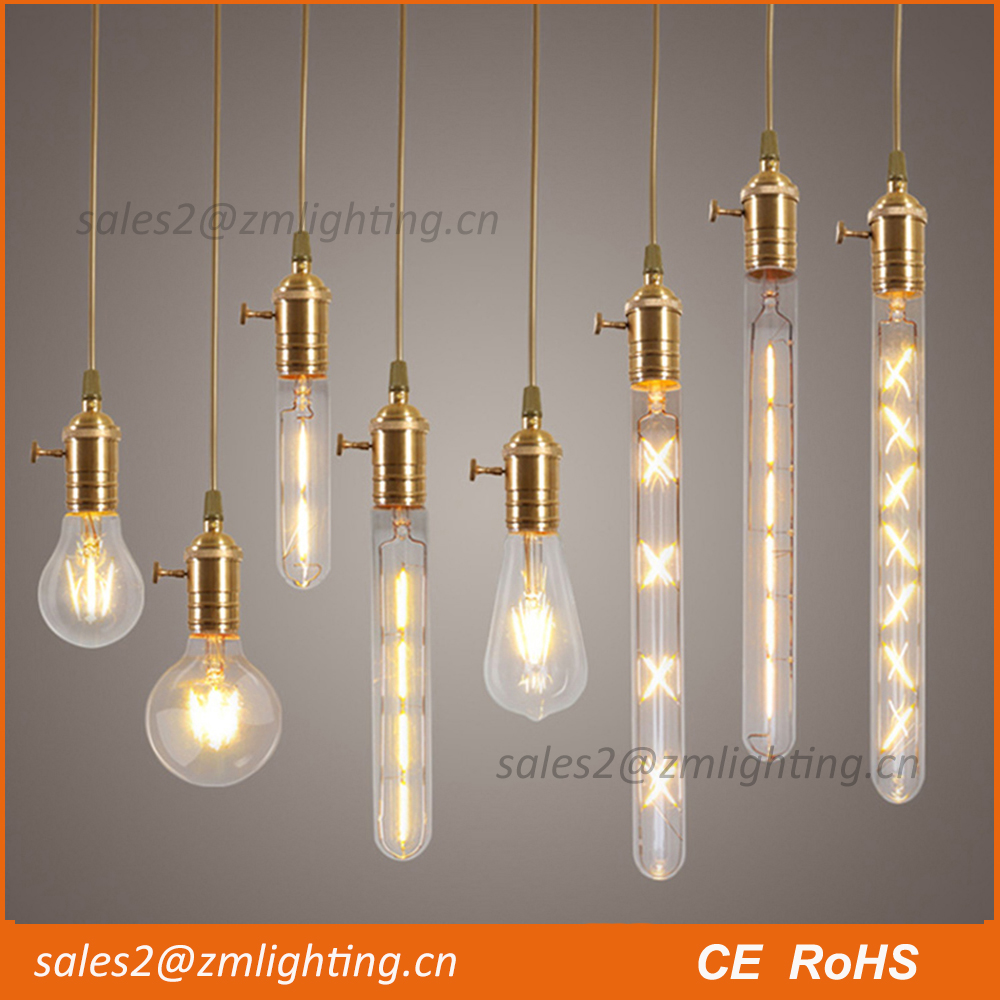 C35 G45 G80 G95 G125 ST64 A19 A60 dimmable edison 1w-8w led cog filament bulb led dimmable led desk lamp vintage lamps
