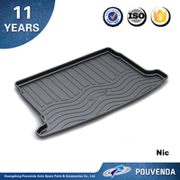 New Genuine Non-Slip Protector TPO Trunk Mat Liner For golf 6 2010 2012 2013 Rear Boot Cargo Mats 3D bootliner whateproof