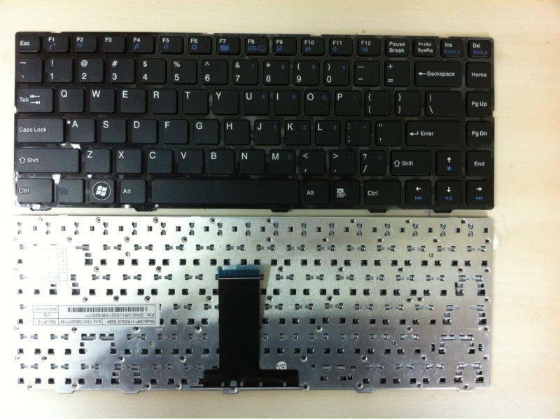 BRAND NEW ORIGINAL KEYBOARD FOR MSI CX480 MP-11A63US-5284