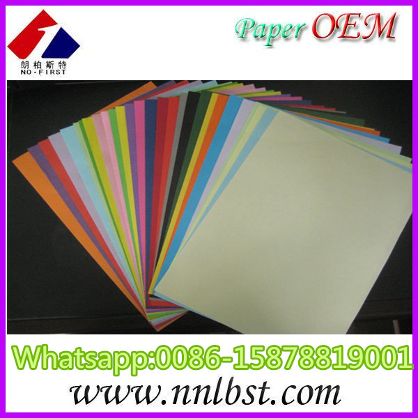 A4 Color Copy Paper/White And Color Offset Paper For Printing